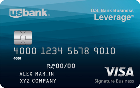 U.S. Bank Leverage business card www.usbank.com/leverage (Photo: Business Wire)