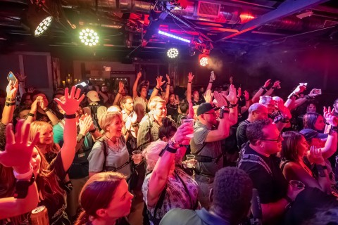 At a live concert, members of the deaf community, together with hearing concertgoers, experience the music of each of the instruments via vibrations across different parts of their bodies in the first product collaboration between Avnet and Not Impossible Labs. (Photo: Business Wire)