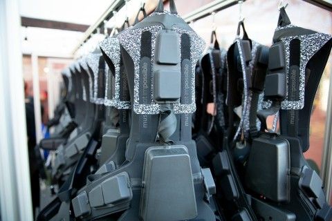The Music: Not Impossible vests, the first product collaboration between Avnet and Not Impossible Labs, are ready for concertgoers to experience before an exclusive event in Las Vegas. (Photo: Business Wire)