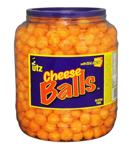 Utz Cheese Balls (Photo: Utz Quality Foods)