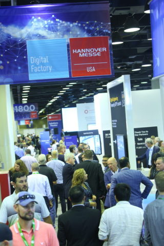 HANNOVER MESSE USA 2018 presented game-changing Industry 4.0 solutions over six days during its co-location with IMTS 2018 at McCormick Place in Chicago from September 10-15. (Photo: Business Wire)