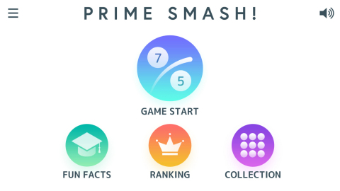 """The screen of """"Panasonic Prime Smash!"""" (Graphic: Business Wire)"""