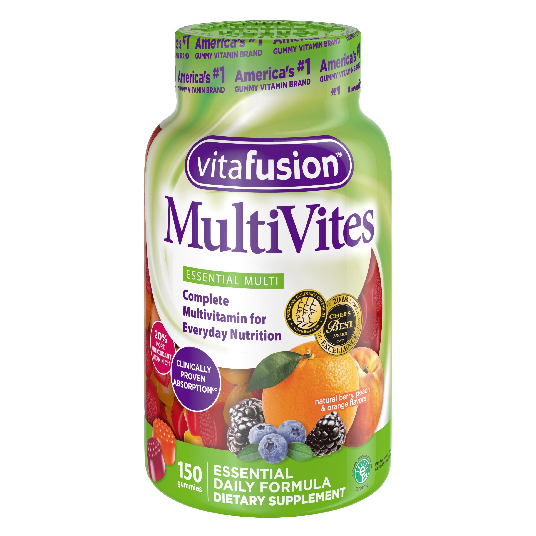 vitafusion™ Becomes First Vitamin
