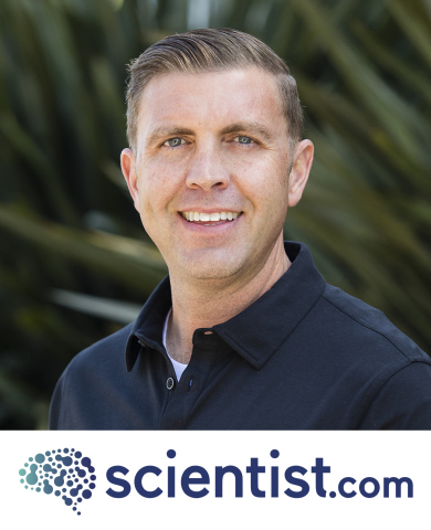 Scientist-entrepreneur Mark Herbert brings his strong scientific background and business experience to Scientist.com as new Chief Business Officer. (Photo: Business Wire)