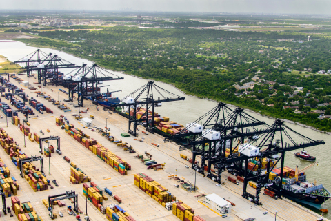 Port Houston Bayport Container Terminal (Photo: Business Wire)