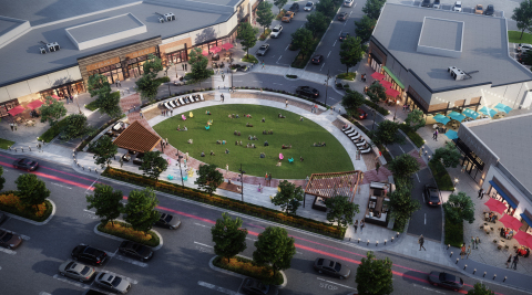 Mill Station's Courtyard will include a four-season landscaped lawn along with pedestrian and seating areas, creating a campus-like setting.