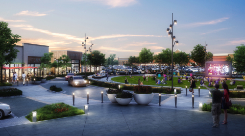 Mill Station's Courtyard will be an inviting community gathering space with a modern, pedestrian-friendly design, surrounded by 45,000 square feet of retail.