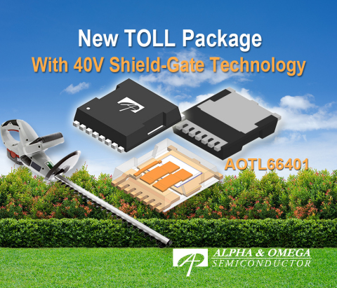 New TOLL Package with 40V SGT (Graphic: Business Wire)