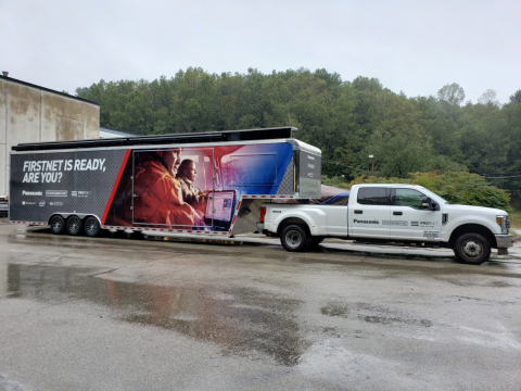 Panasonic's Toughbook Truck Hits the Road (Photo: Business Wire)
