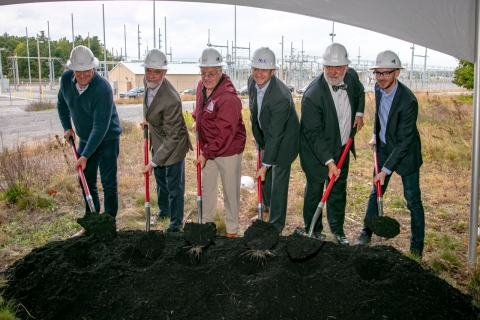 Key executives joined to break ground on Wednesday, September 26 to celebrate Key Capture Energy's N ...