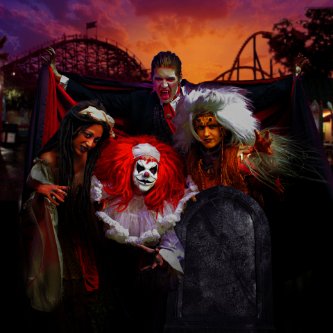 Six Flags Expands 30-Hour Coffin Challenge to All North American Parks During Fright Fest.