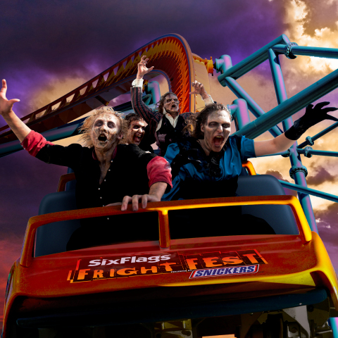 Six Flags Expands 30-Hour Coffin Challenge to All Parks During Fright Fest.