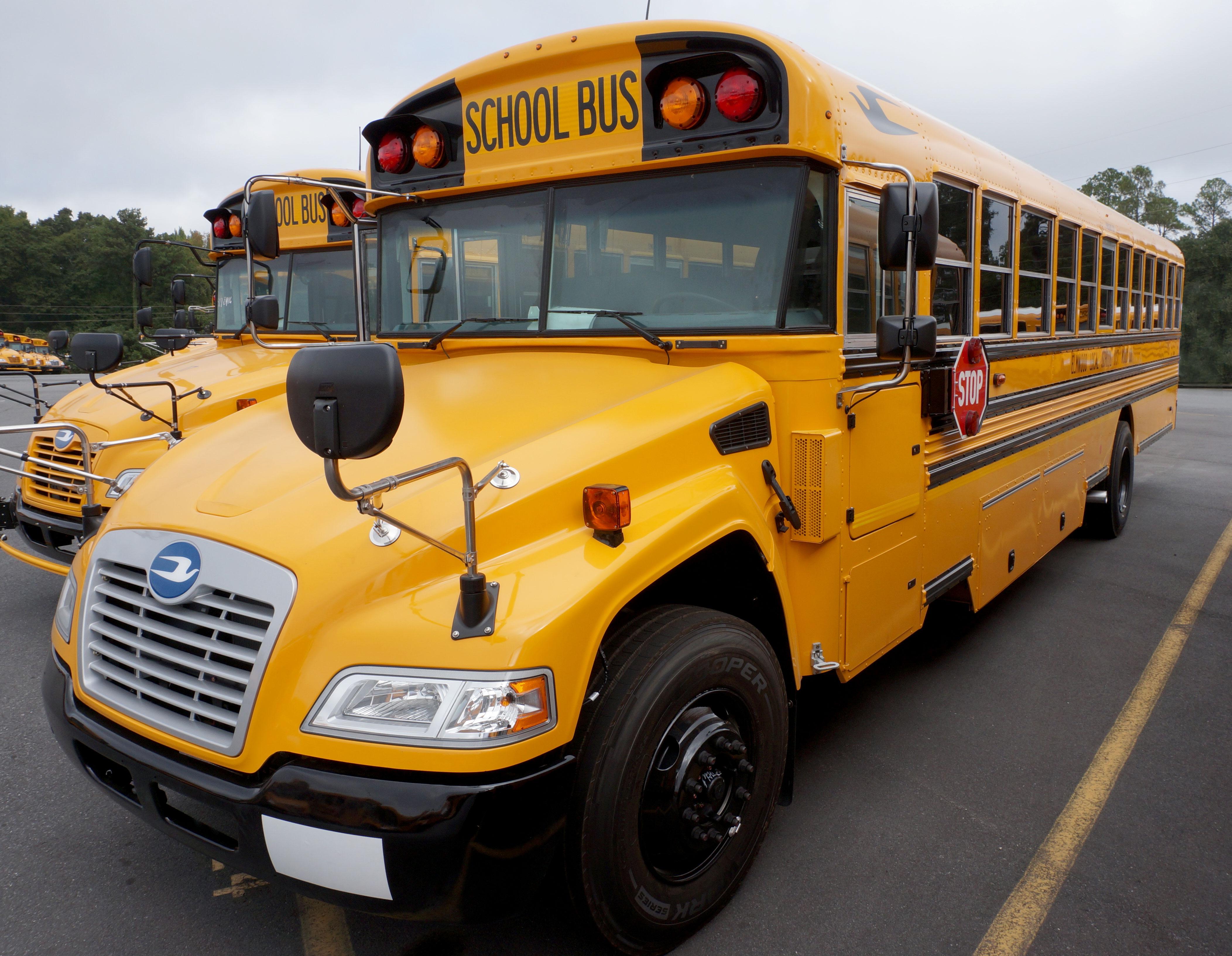 cooper tbr tires selected as original equipment on blue bird school