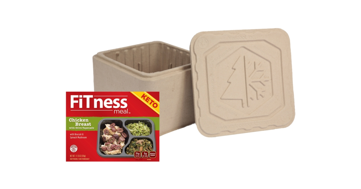 Ketogenic Fitness Meals from Proof Smart Food Go Sustainable with Recyclable Coolers from ...