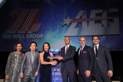 The Mall Group and AEG set a new era of entertainment, sports and MICE in Bangkok through a partnership that will expand AEG's proven entertainment district model to Southeast Asia. (Photo: Business Wire)