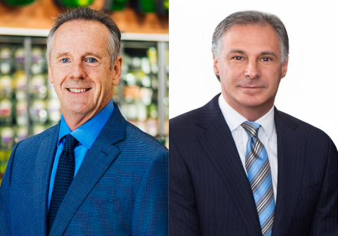 Michael Teel, Owner & Chairman of the Board/ Keith Knopf, President & Chief Executive Officer; Raley's (Photo: Business Wire)
