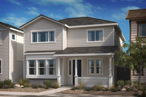 New KB homes now available in Compton, California. (Photo: Business Wire)