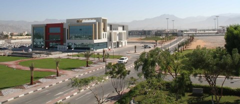 Part of the American University of Ras Al Khaimah campus (Photo: AETOSWire)
