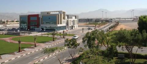 Part of the American University of Ras Al Khaimah campus (Photo: AETOSWire)