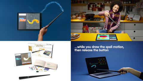 Harry Potter Kano Coding Kit Now Available for Purchase (Photo: Business Wire)