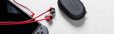 HyperX Adds New Cloud Earbuds Gaming Headphones with Microphone to Award-Winning Headset Lineup. Rea ...