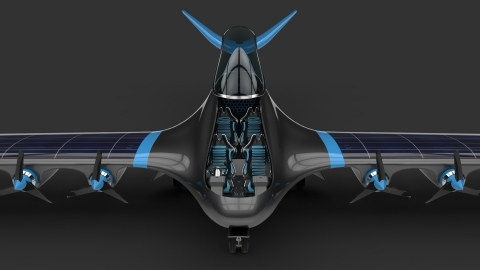 ELEMENT ONE is a zero-emission, long-range electric aircraft powered by distributed hydrogen-electric propulsion. (Photo: Business Wire) (Photo: Business Wire)