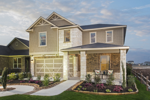 KB Home debuts new model home and new homesites at popular San Antonio neighborhood. (Photo: Business Wire)