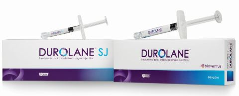 DUROLANE is a single-injection, hyaluronic acid product used for joint lubrication in the treatment of pain associated with knee and hip osteoarthritis and is now available in Brazil. (Photo: Business Wire)