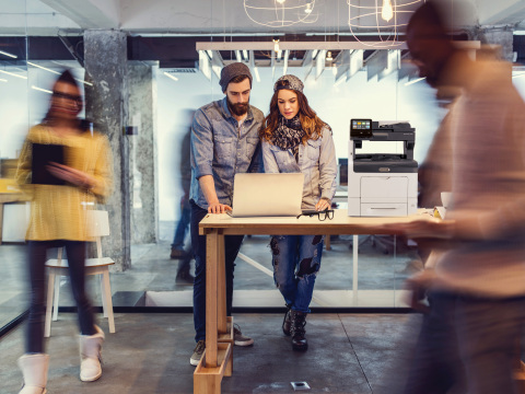 Xerox ConnectKey technology links the physical and digital worlds and transforms traditional printing devices into intelligent, connected workplace assistants that address the needs of the modern workplace. (Photo: Business Wire)