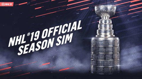 Toronto Maple Leafs To Hoist The Stanley Cup For The First Time In Over 50 Years, Predicted By EA SPORTS NHL 19 Simulation (Graphic: Business Wire)