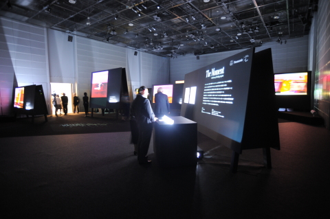 """Exhibits - """"The Moment - Artistic way of looking at sports"""" (Photo: Business Wire)"""