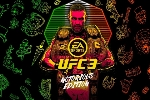 EA SPORTS UFC 3 Celebrates Return Of Conor McGregor With 'Notorious Edition' (Graphic: Business Wire)