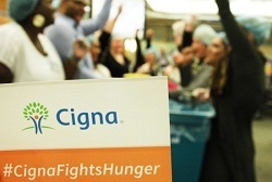 Cigna Fights Hunger will pack one million meals this month for Feeding Children Everywhere. (Photo: Business Wire)