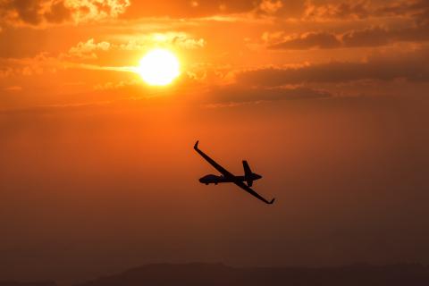 MQ-9B SkyGuardian. (Photo: Business Wire)