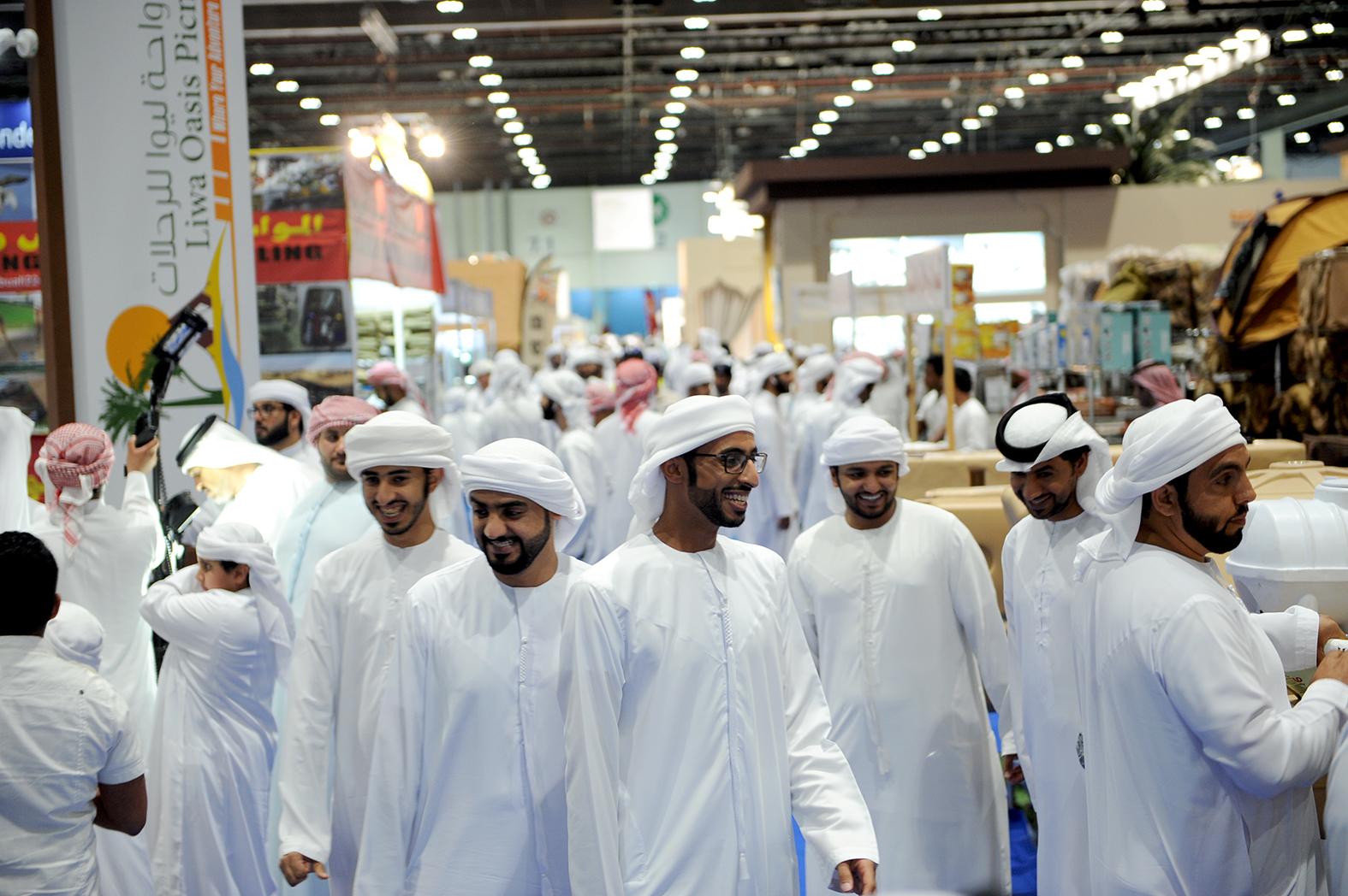 Visita de Sua Alteza Sheik Mohammed bin Zayed e Soberanos dos Emirados  Árabes Unidos e mais de 110 mil visitantes  c5d88acb311c3