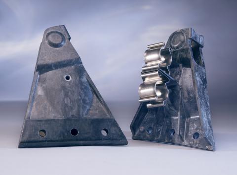 Xycomp DLF Brackets (Photo: Greene Tweed)