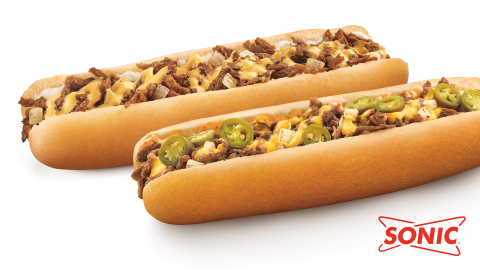 SONIC Drive-In's Classic and Spicy Footlong Philly (Photo: Business Wire)