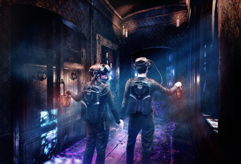 Immersive MR Experience - Corridor (Photo: Business Wire)