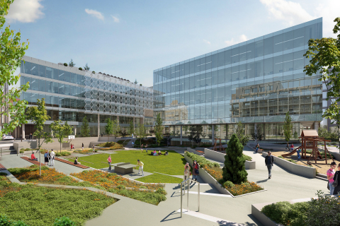 City Block 3 Office Rendering (Graphic: Business Wire)