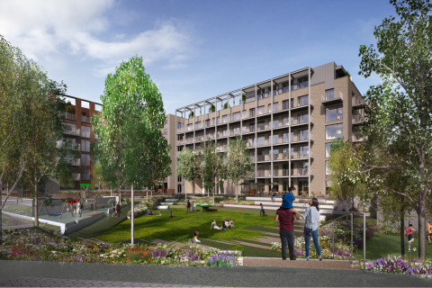 City Block 3 PRS Rendering (Graphic: Business Wire)