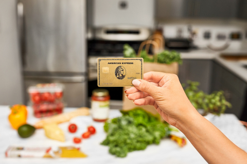 The new American Express Gold Card (Photo: Business Wire)
