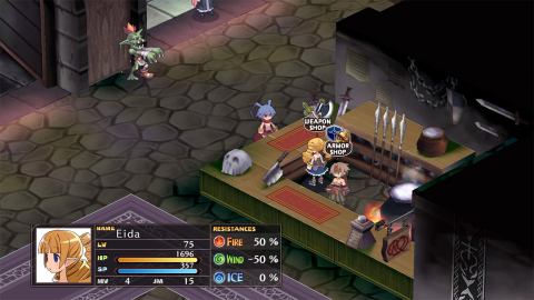 Relive the expanded adventures of Laharl, Etna and Flonne in Disgaea 1 Complete, launching on Oct. 9. (Graphic: Business Wire)