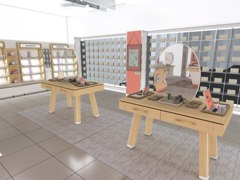In-store rendering (Photo: Business Wire)
