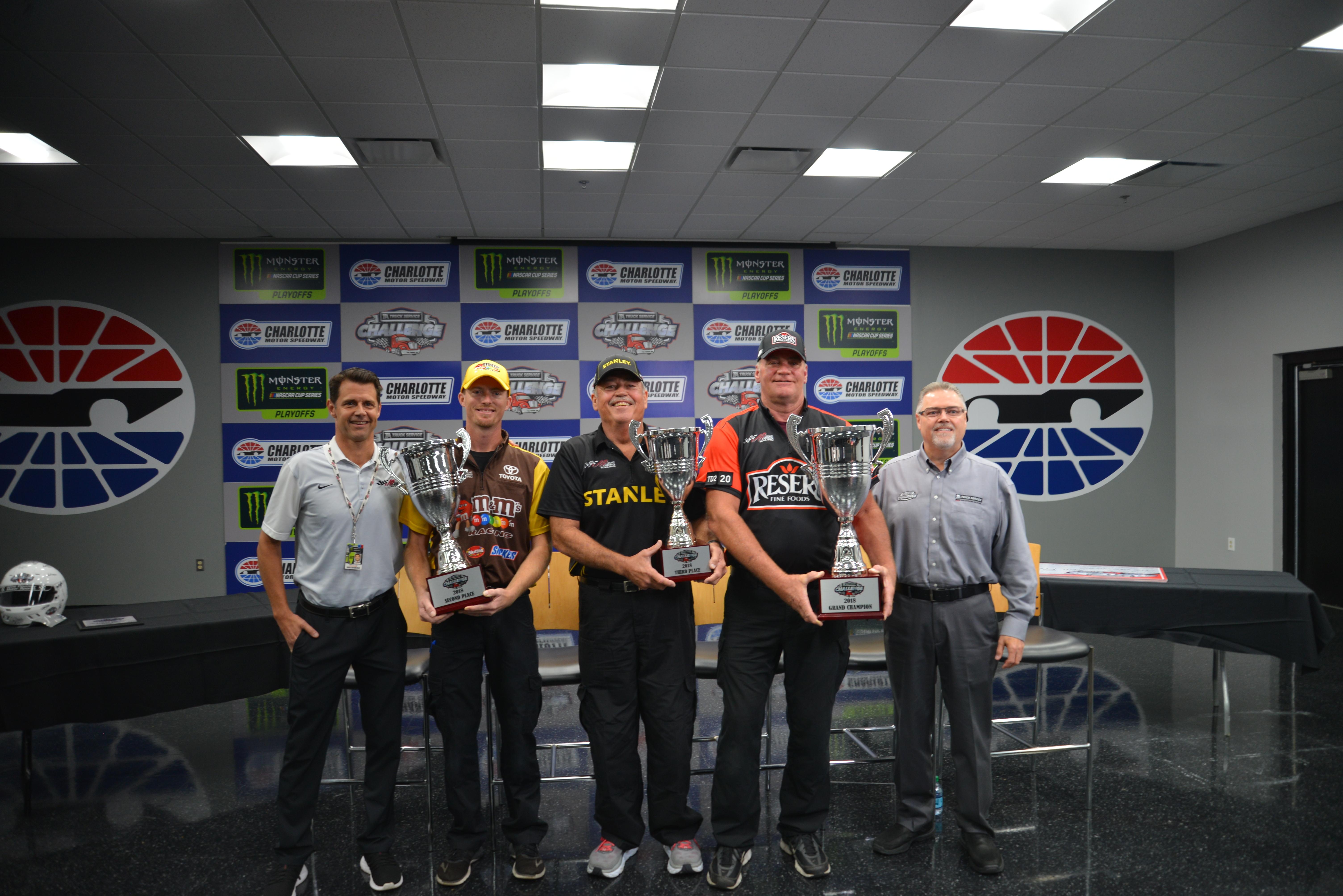 Ta Truck Service >> Ta Truck Service Challenge Names Grand Champion Joe Gibbs