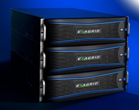 An ExaGrid system comprised of 3 EX63000E appliances. (Photo: Business Wire)