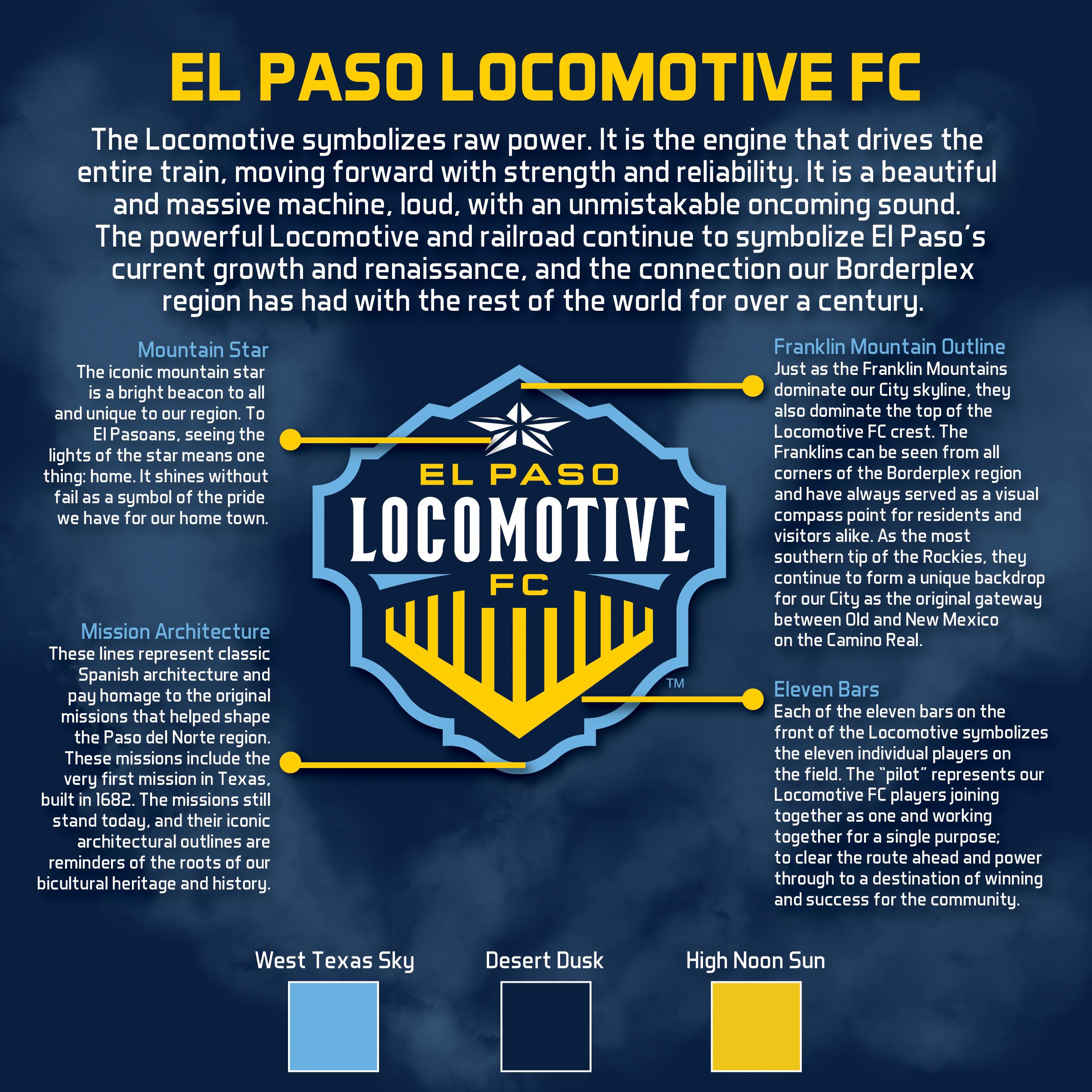 f399b93b504c3 El Paso Locomotive FC despliega como el nuevo equipo de fútbol profesional  de la ciudad