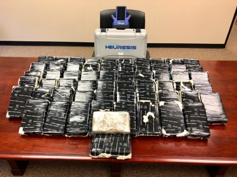 Cocaine Seizure (Photo: Business Wire)