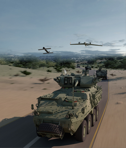 AeroVironment and General Dynamics Land Systems Join Forces to Integrate UAS and TMS with Armored Co ...