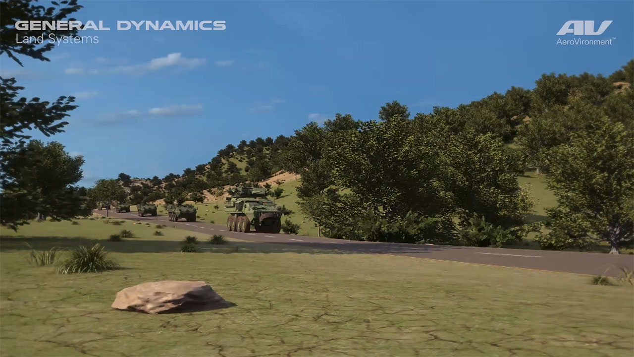 AeroVironment and General Dynamics Land Systems Join Forces to Integrate UAS and TMS with Armored Combat Vehicles