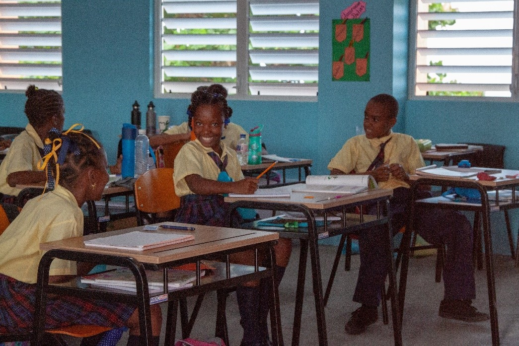 Roseau Library & Three Primary Schools Benefit from Flow\'s Post ...